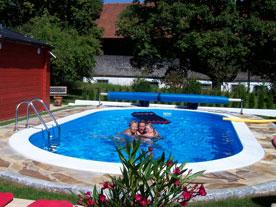 Styropor-Pool