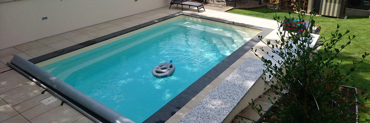 GFK-Pool NOVA DETENTE 6 - Farbe beige