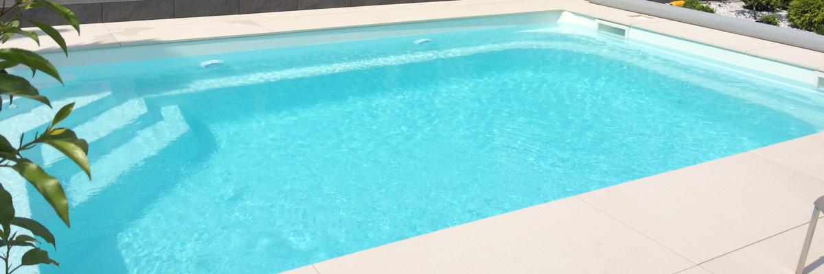 GFK-Pool NOVA DETENTE 6 - Farbe weiß